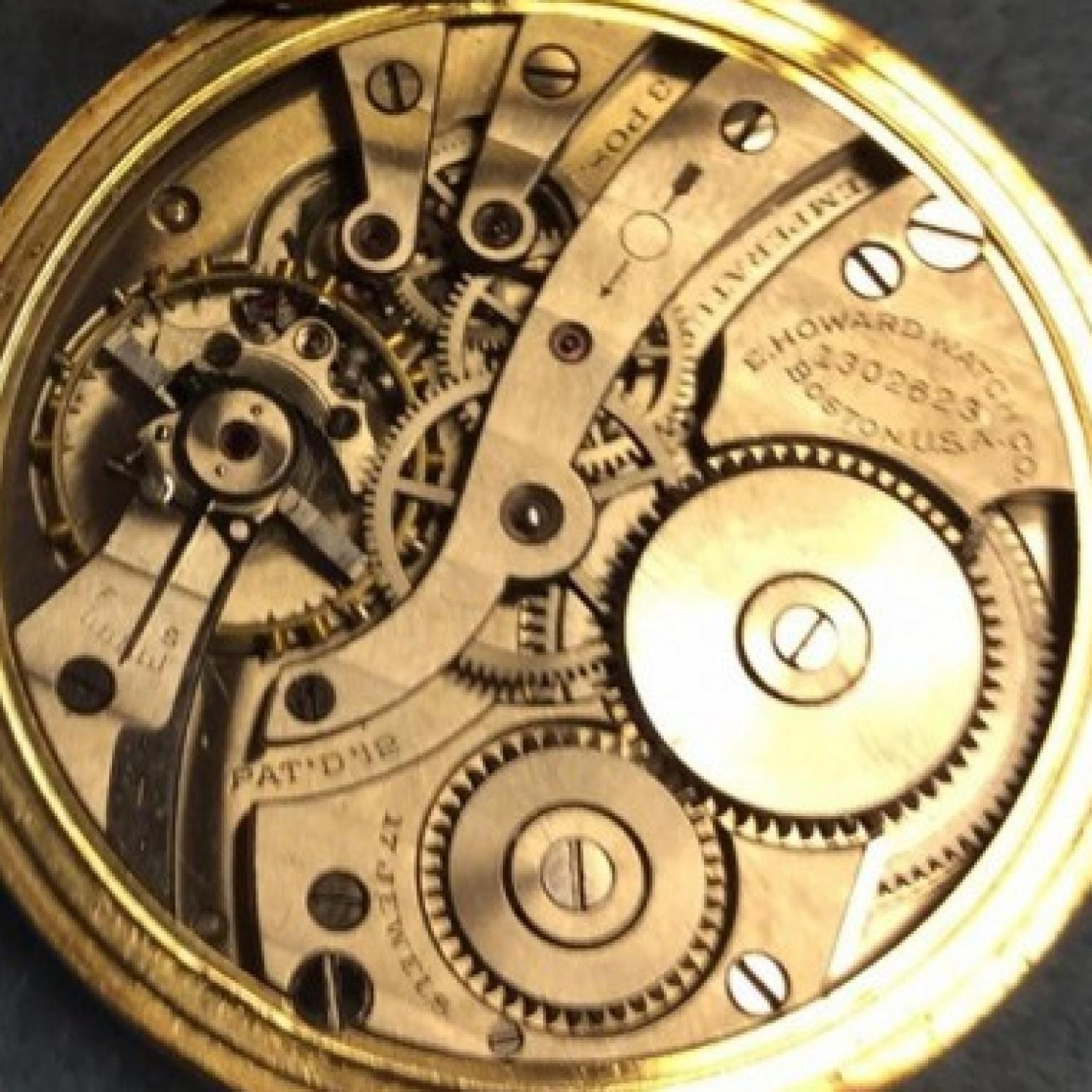 Image of E. Howard Watch Co. (Keystone) Series 7 #1302623 Movement