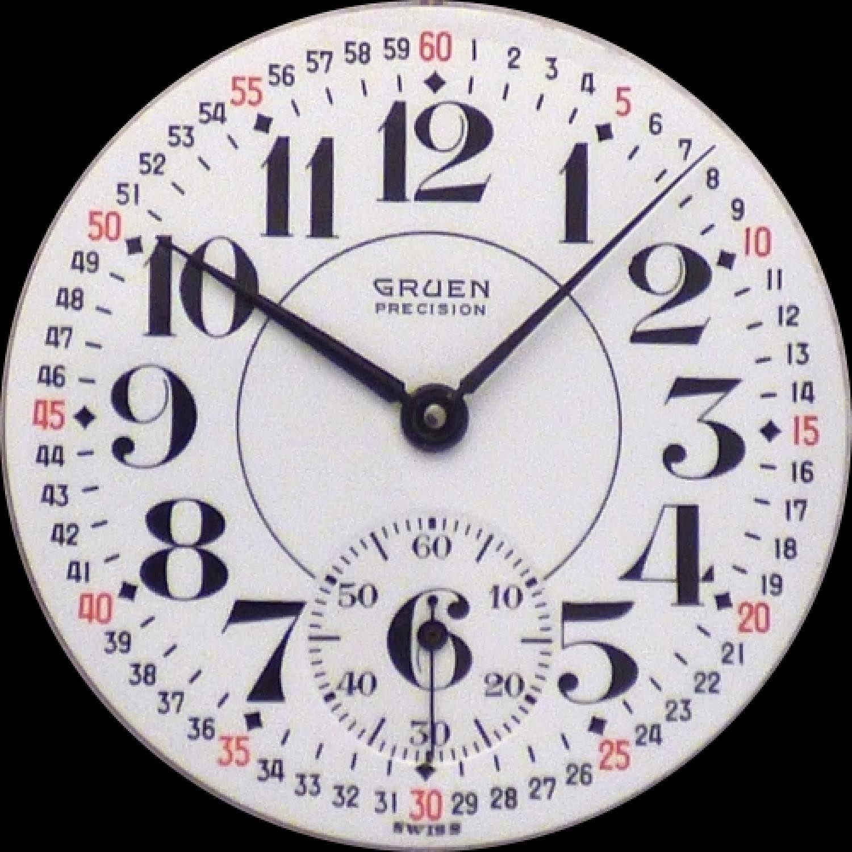 Image of Gruen Watch Co. 395 #NONE Dial