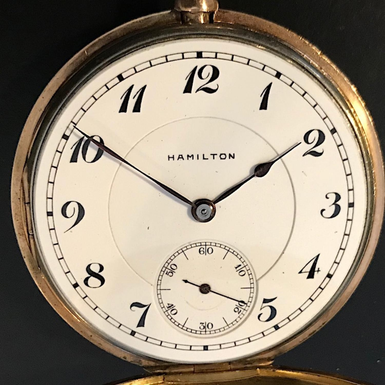Image of Hamilton 956 #1265094 Dial