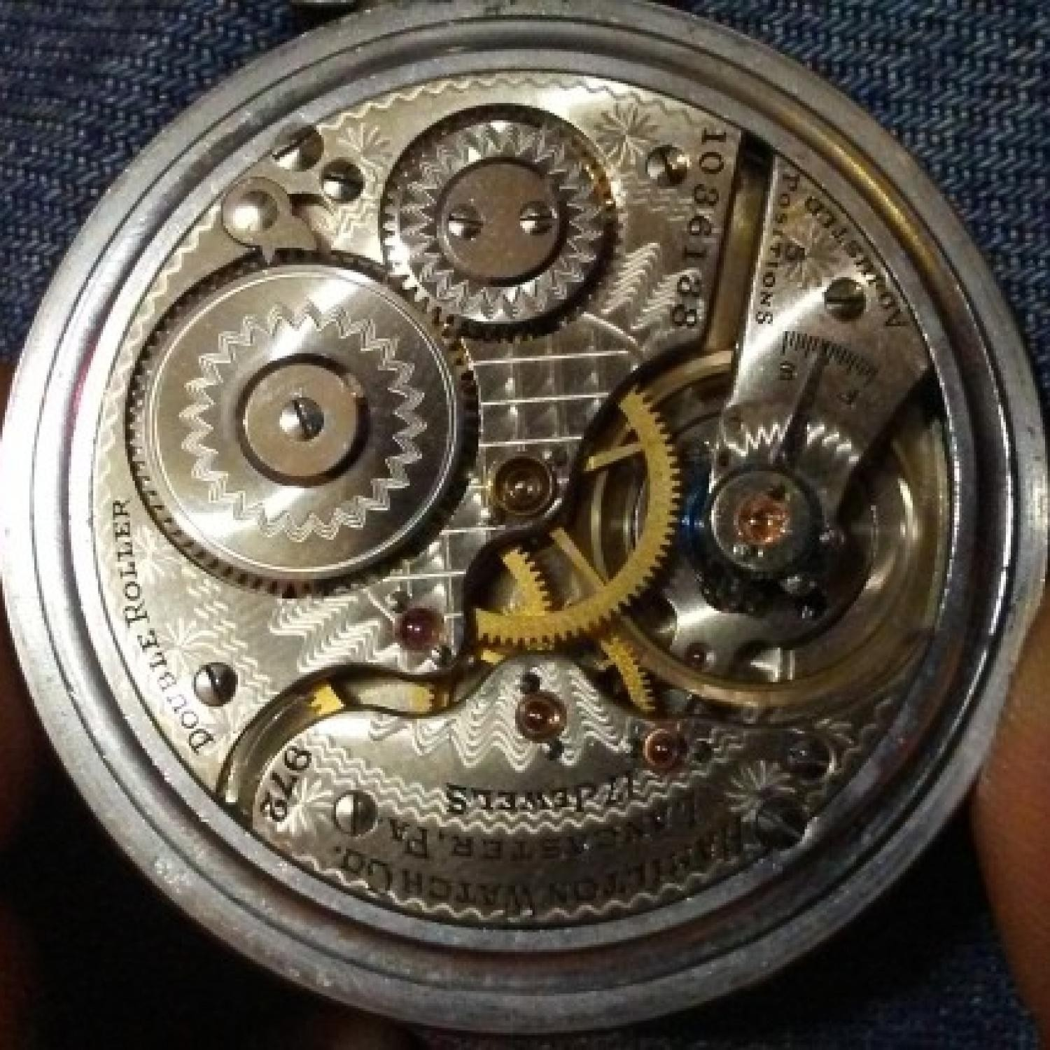 Image of Hamilton 972 #1036138 Movement