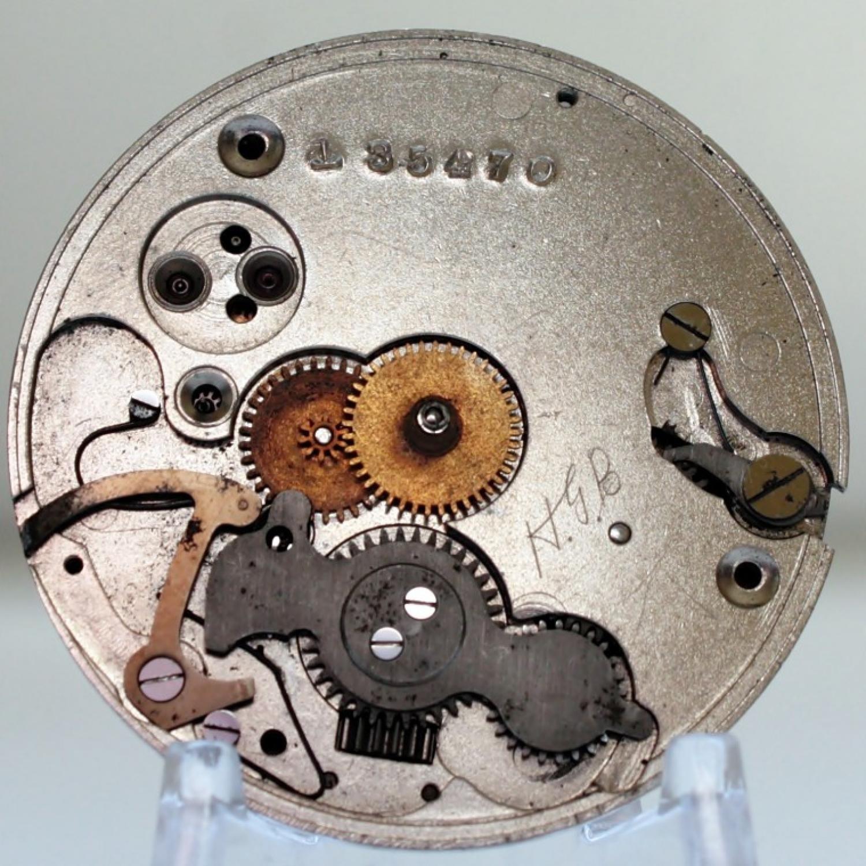 Image of Hamilton 925 #135470 Dial