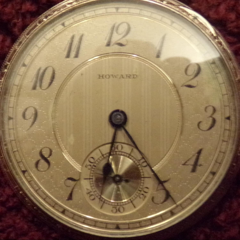 Image of E. Howard Watch Co. (Keystone) Series 12 #26030 Dial