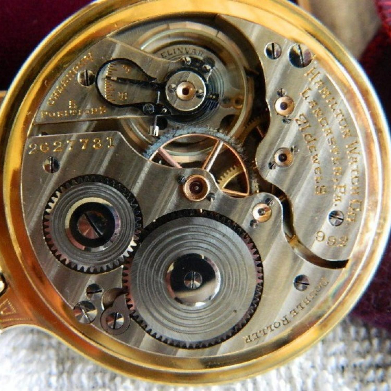 Image of Hamilton 992E #2627731 Movement