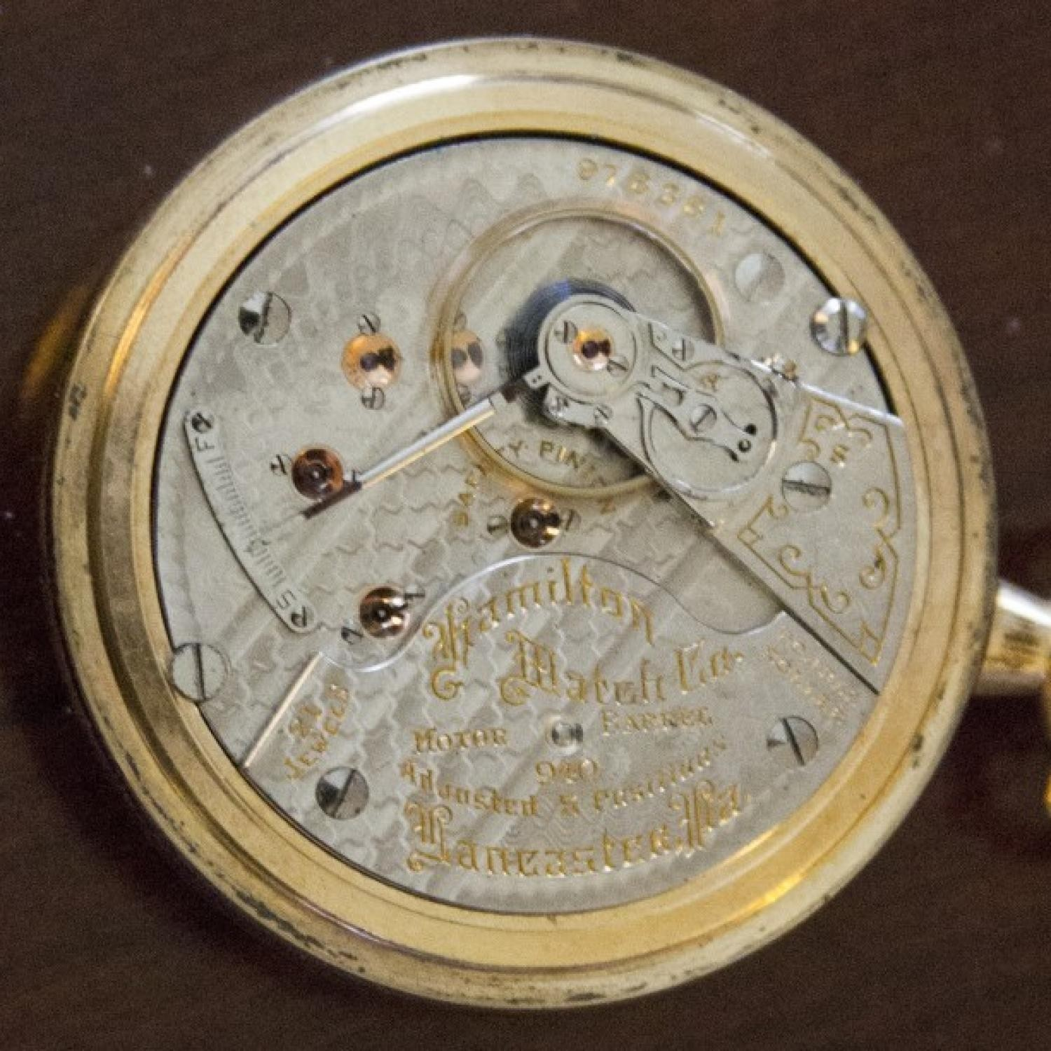 Image of Hamilton 940 #978331 Movement