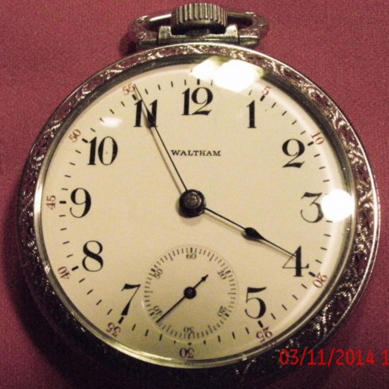 Image of Waltham No. 81 #10308124 Dial