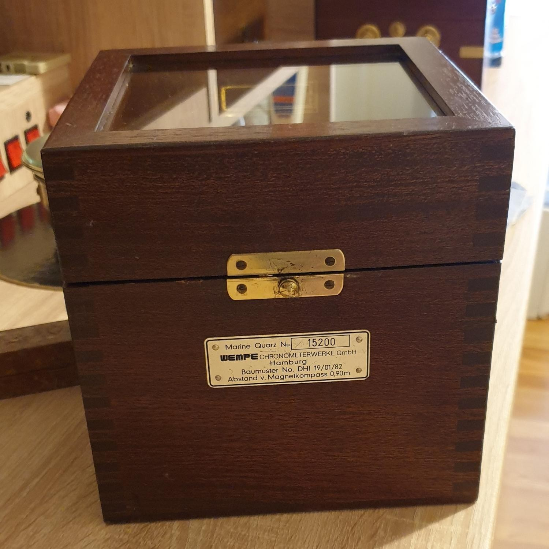 Image of Other WEMPE Quartz marine chronometer model 10057 s/n:15200 #15200 Case
