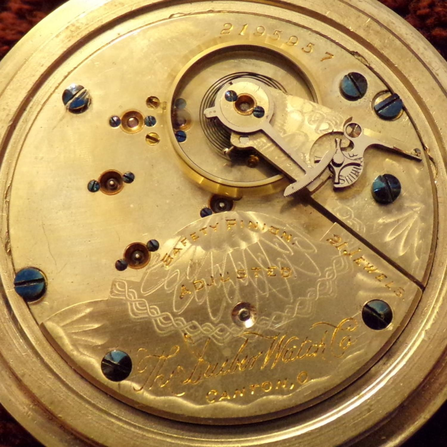 Image of Hampden The Dueber Watch Co. #2195957 Movement