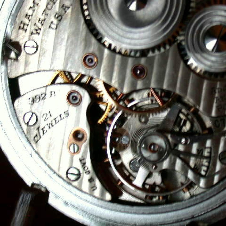 Image of Hamilton 992B #C74820 Movement