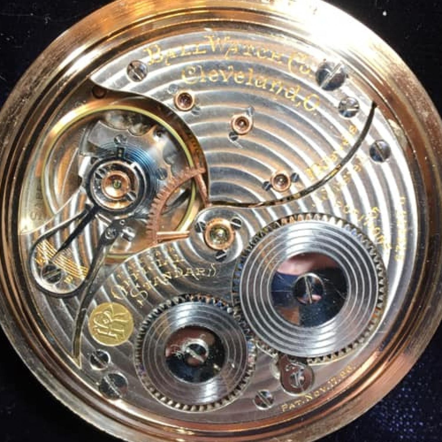 Image of Ball - Waltham Official Standard #B228325 Movement