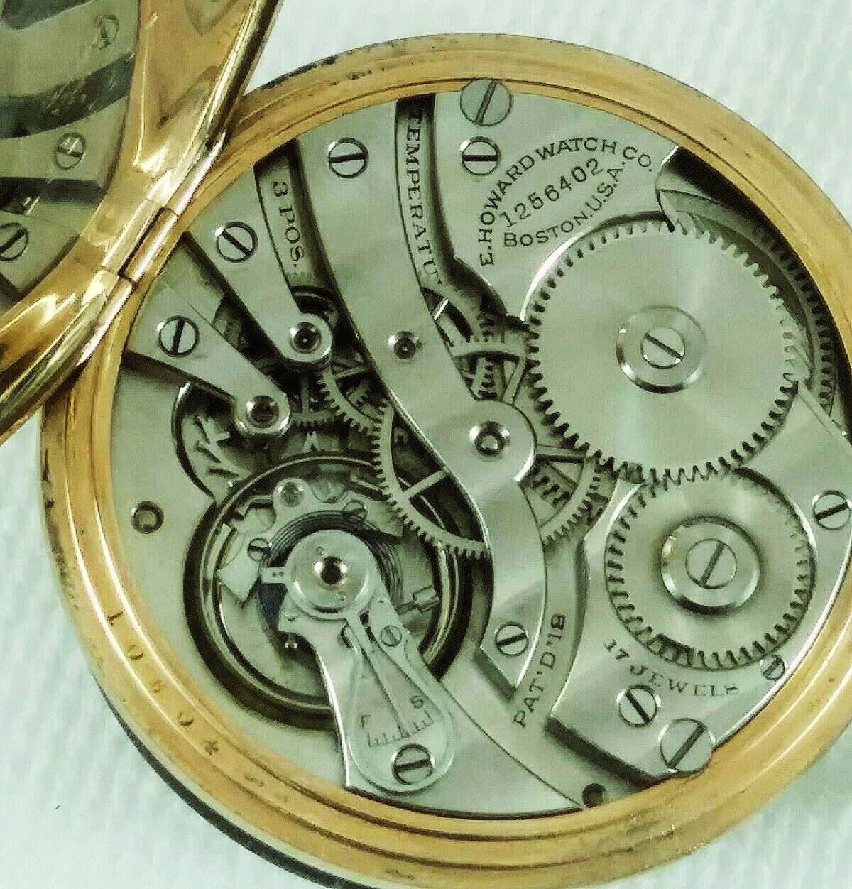 Image of E. Howard Watch Co. (Keystone) Series 7 #1256402 Movement