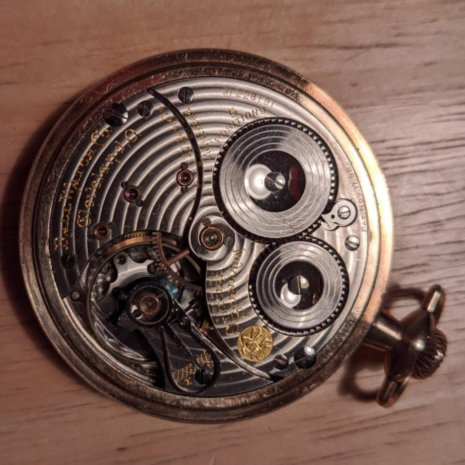 Image of Ball - Waltham Official Standard #B228191 Movement