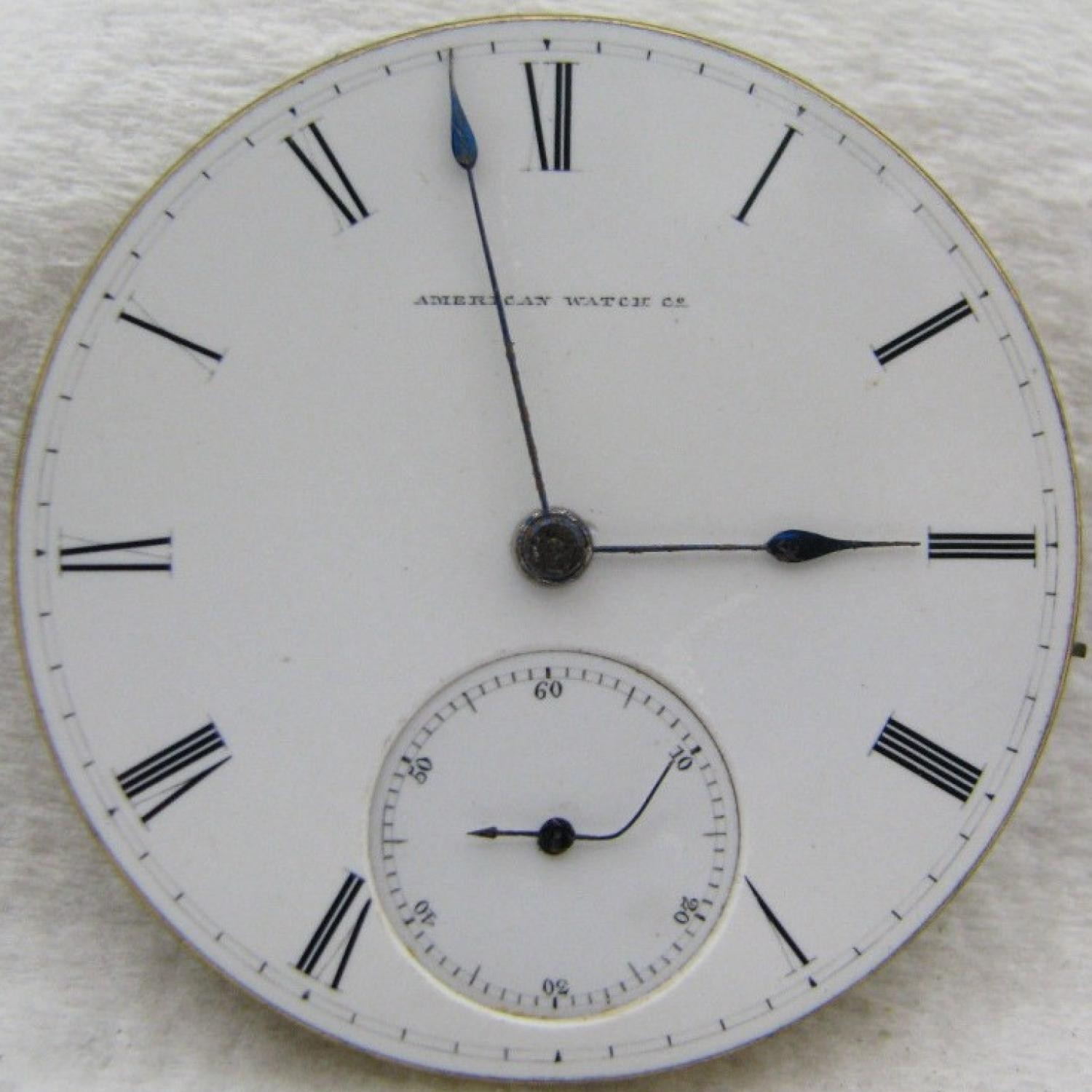 Image of Waltham A.T. & Co. #250913 Dial