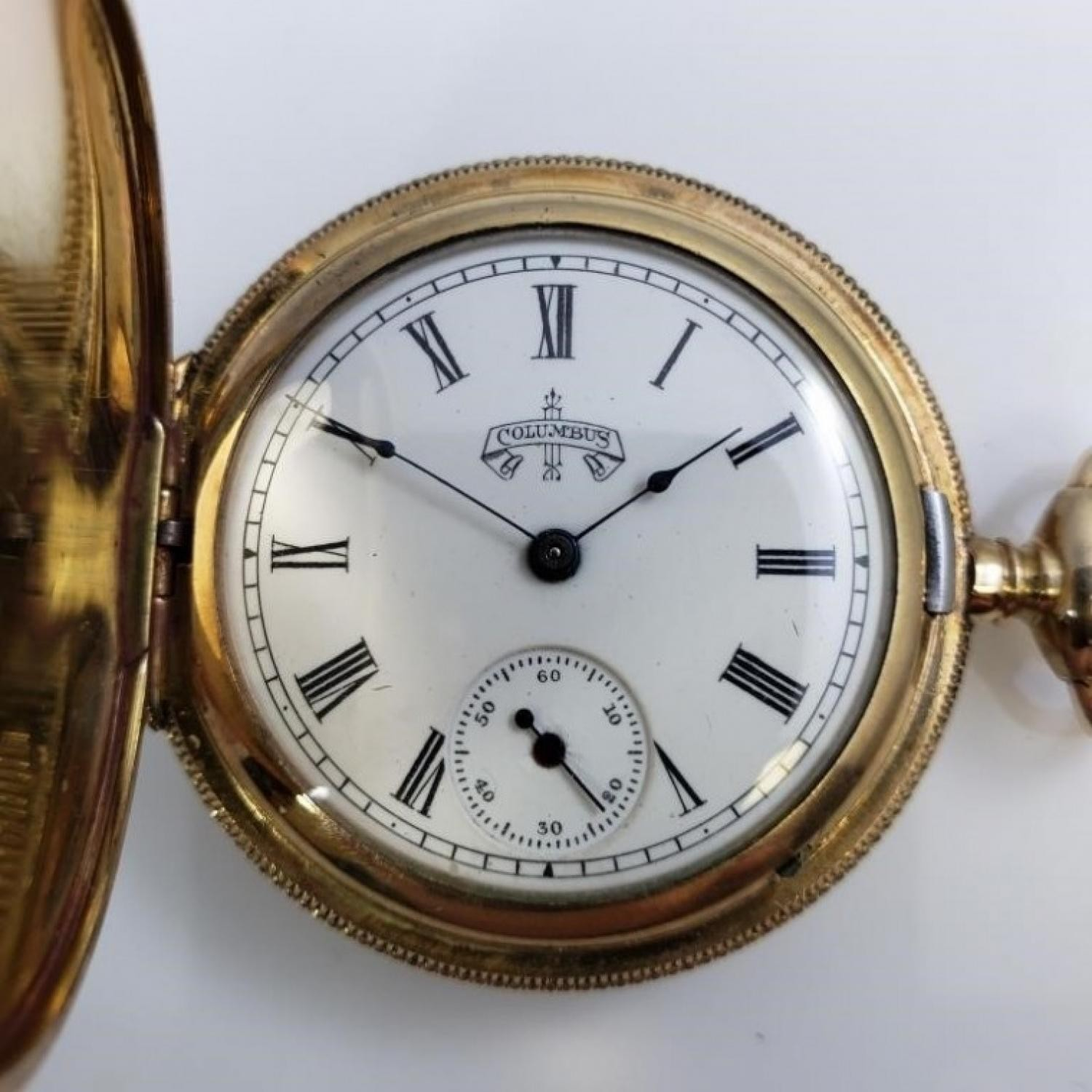 Image of Columbus Watch Co. 22 #348611 Dial