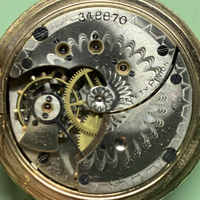 Image of Columbus Watch Co. 22 #348870 Movement