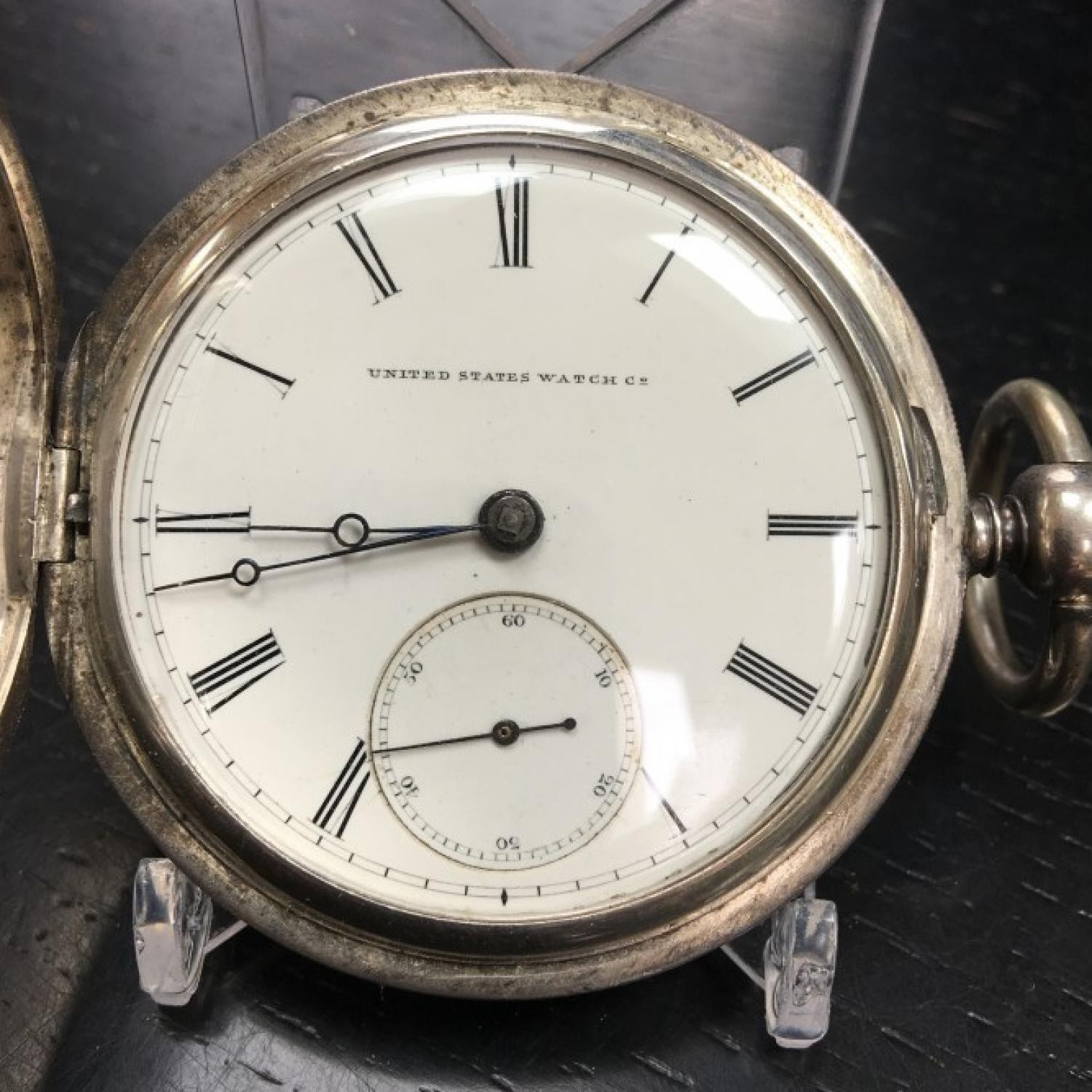 Image of U.S. Watch Co. (Marion, NJ) Fayette Stratton #2134 Dial