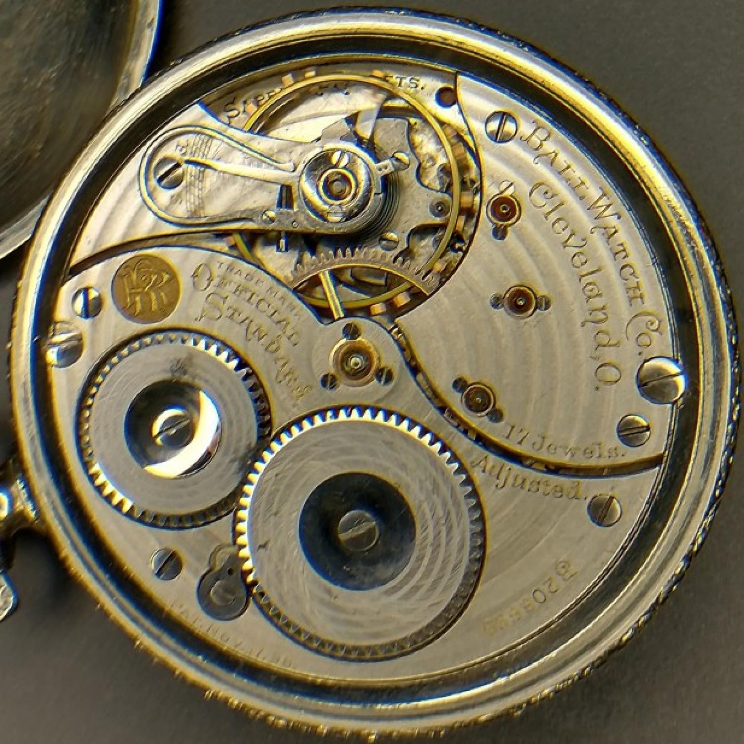 Image of Ball - Waltham Official Standard #B208690 Movement