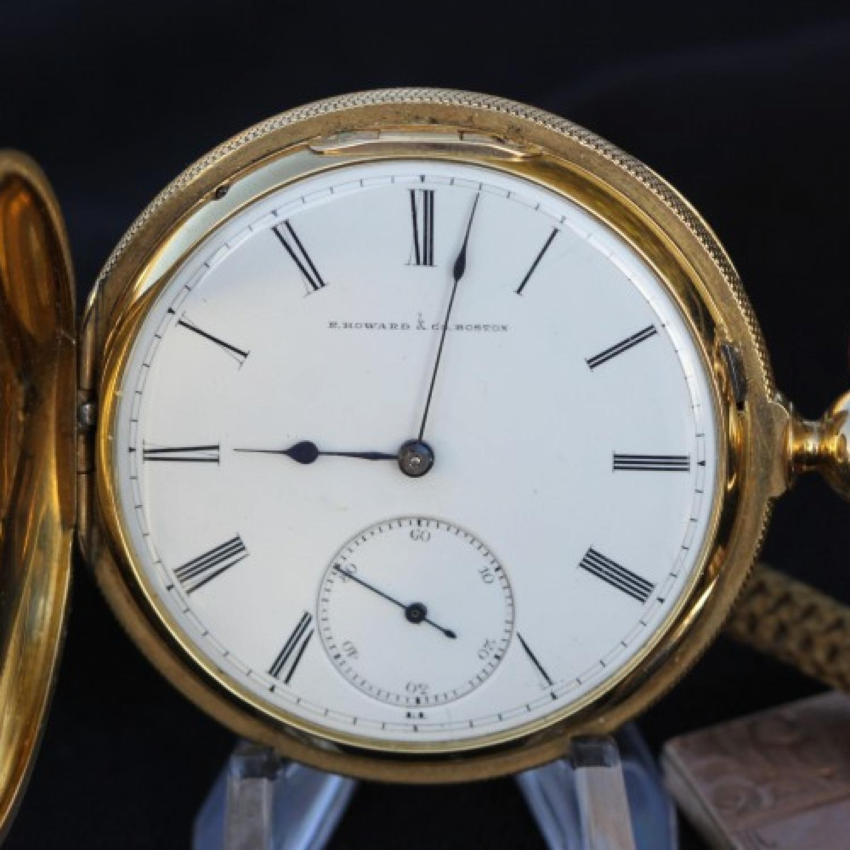 Image of E. Howard & Co. Series III #8461 Dial