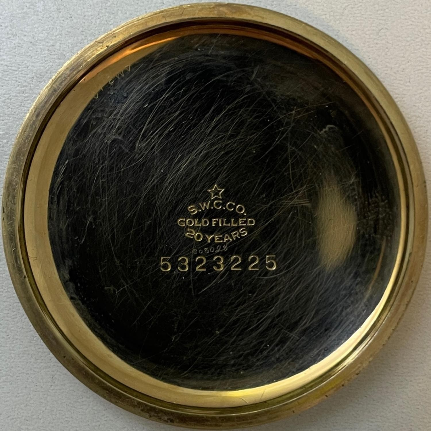 Image of New York Standard Watch Co. 1571 #BF081784 Case