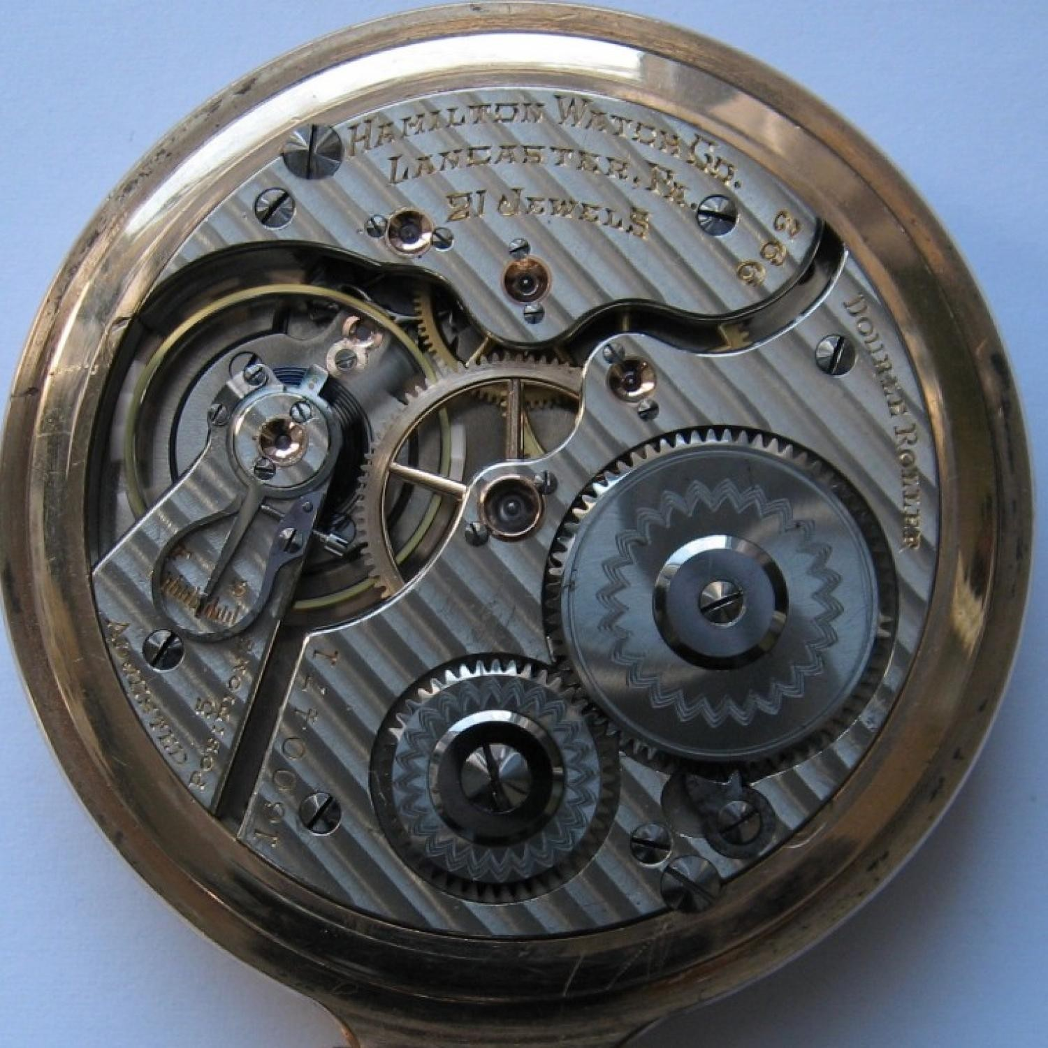 Image of Hamilton 992 #1600471 Movement