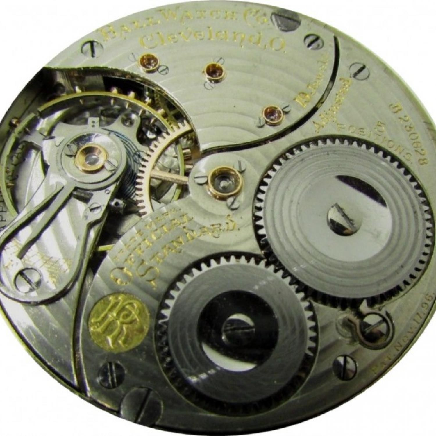 Image of Ball - Waltham Official Standard #B230629 Movement