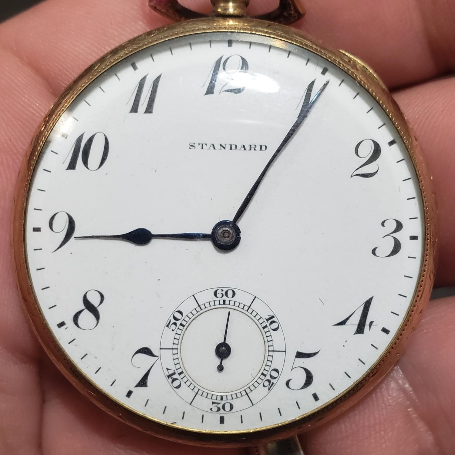 Image of New York Standard Watch Co. 1553 #1011022 Dial