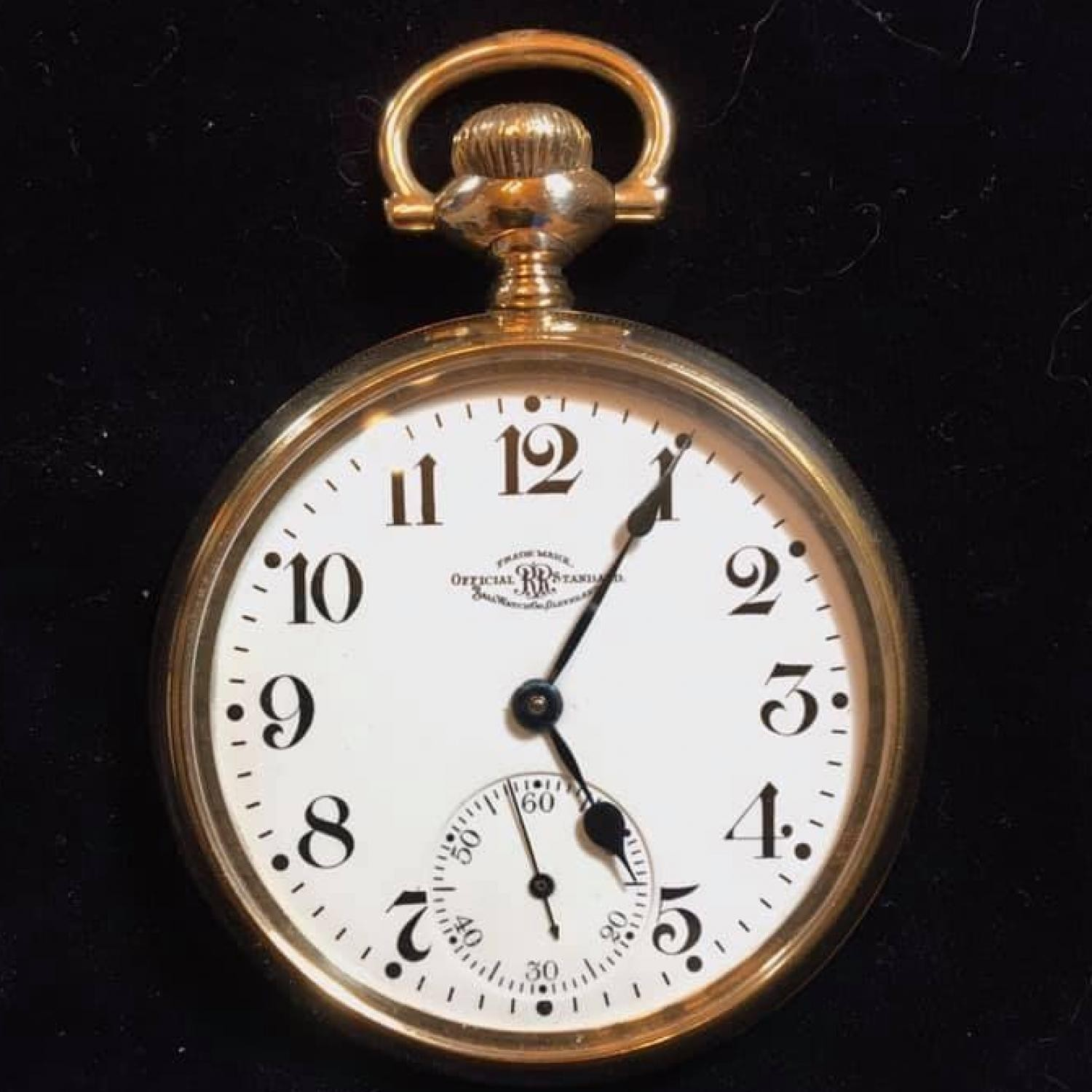 Image of Ball - Waltham Official Standard #B228325 Dial