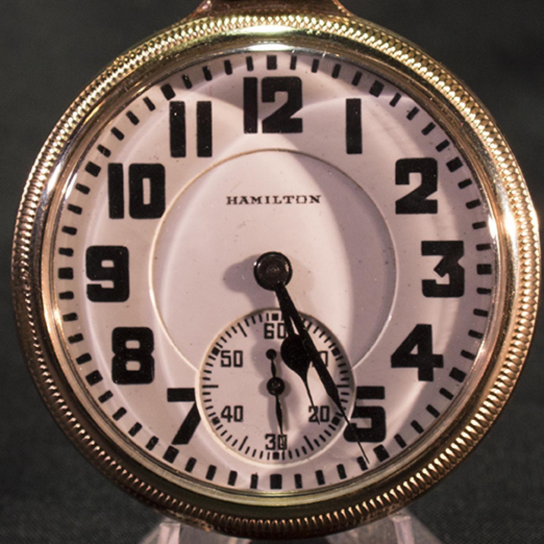 Image of Hamilton 992 #2495124 Dial