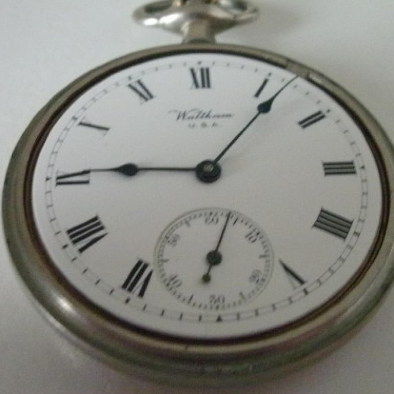 Image of Waltham Traveler #19870453 Dial