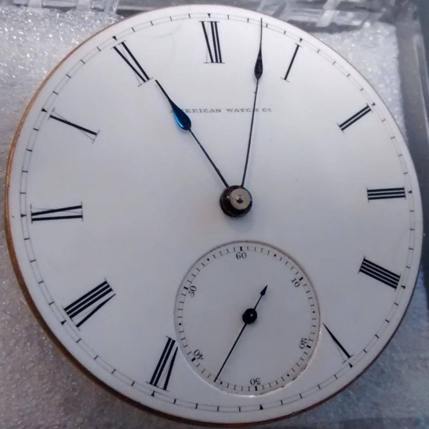 Image of Waltham A.T. & Co. #66049 Dial