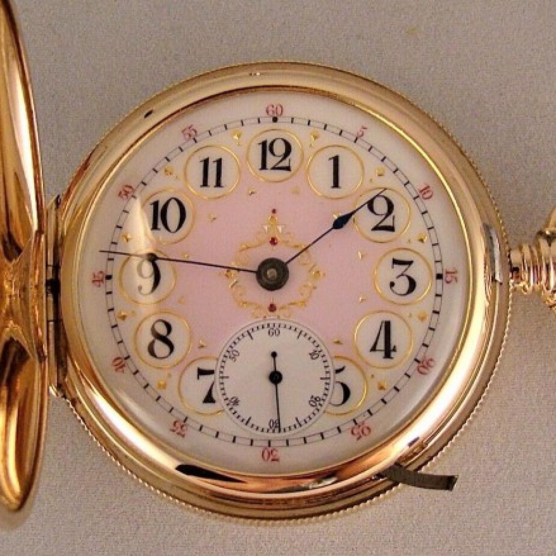 Image of Hampden Lafayette #234665 Dial