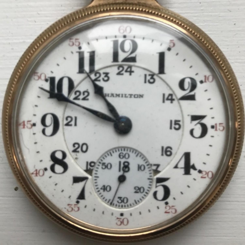 Image of Hamilton 992 #2510550 Dial