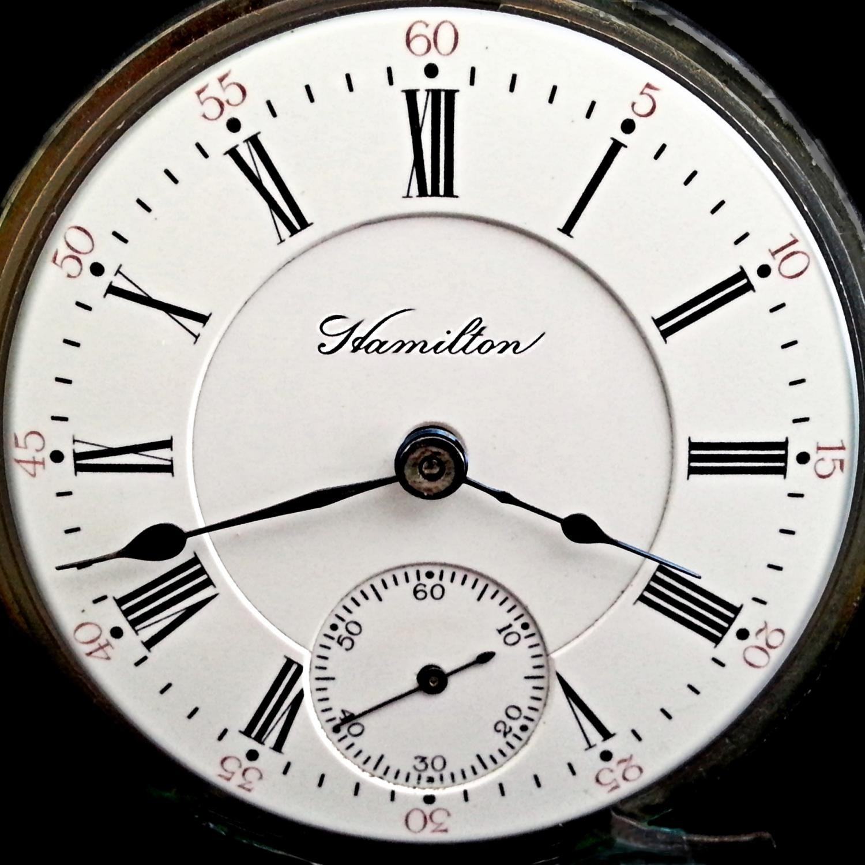 Image of Hamilton 935 #169303 Dial