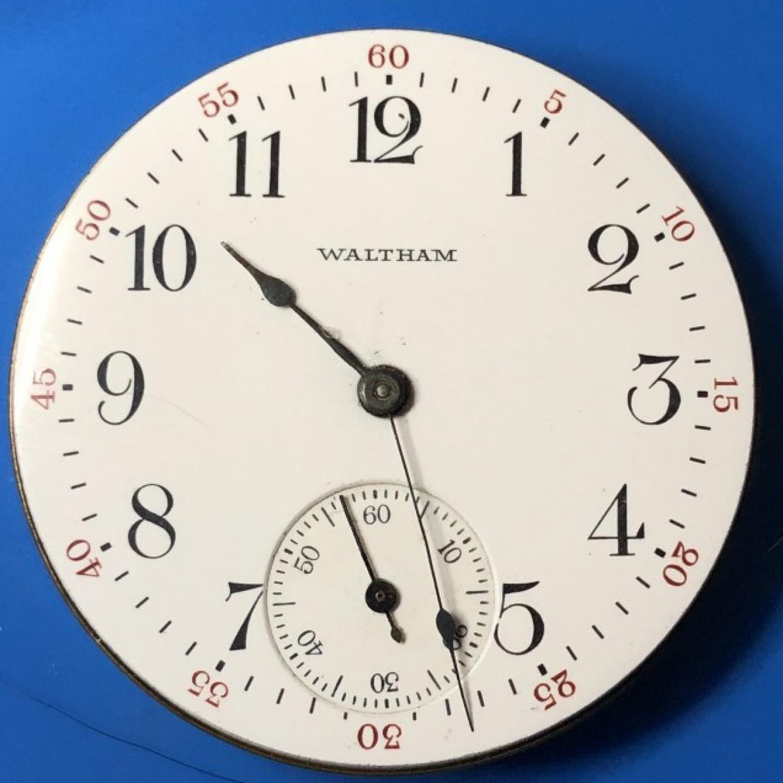 Image of Waltham Traveler #19505017 Dial