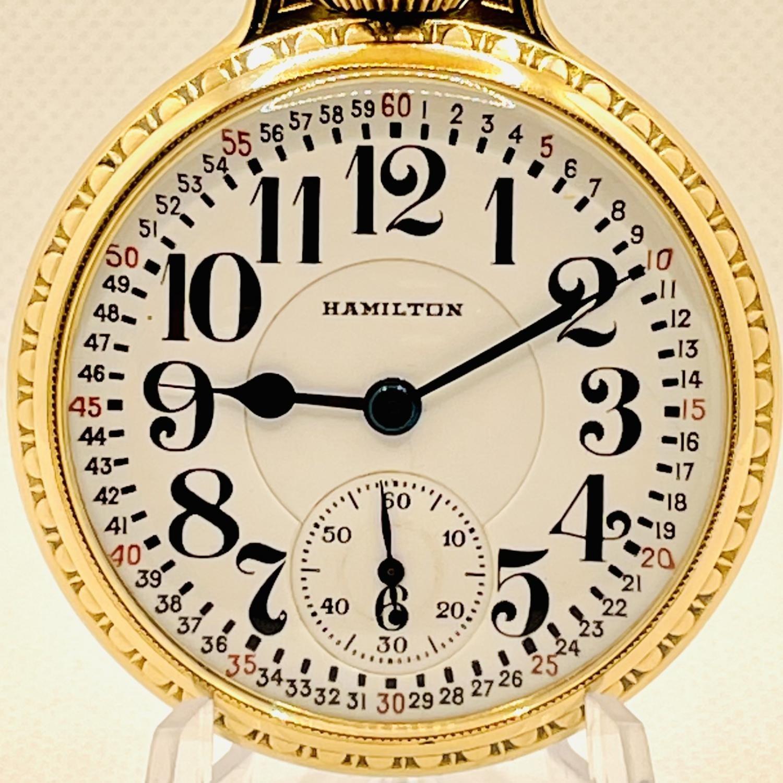 Image of Hamilton 992E #2629215 Dial