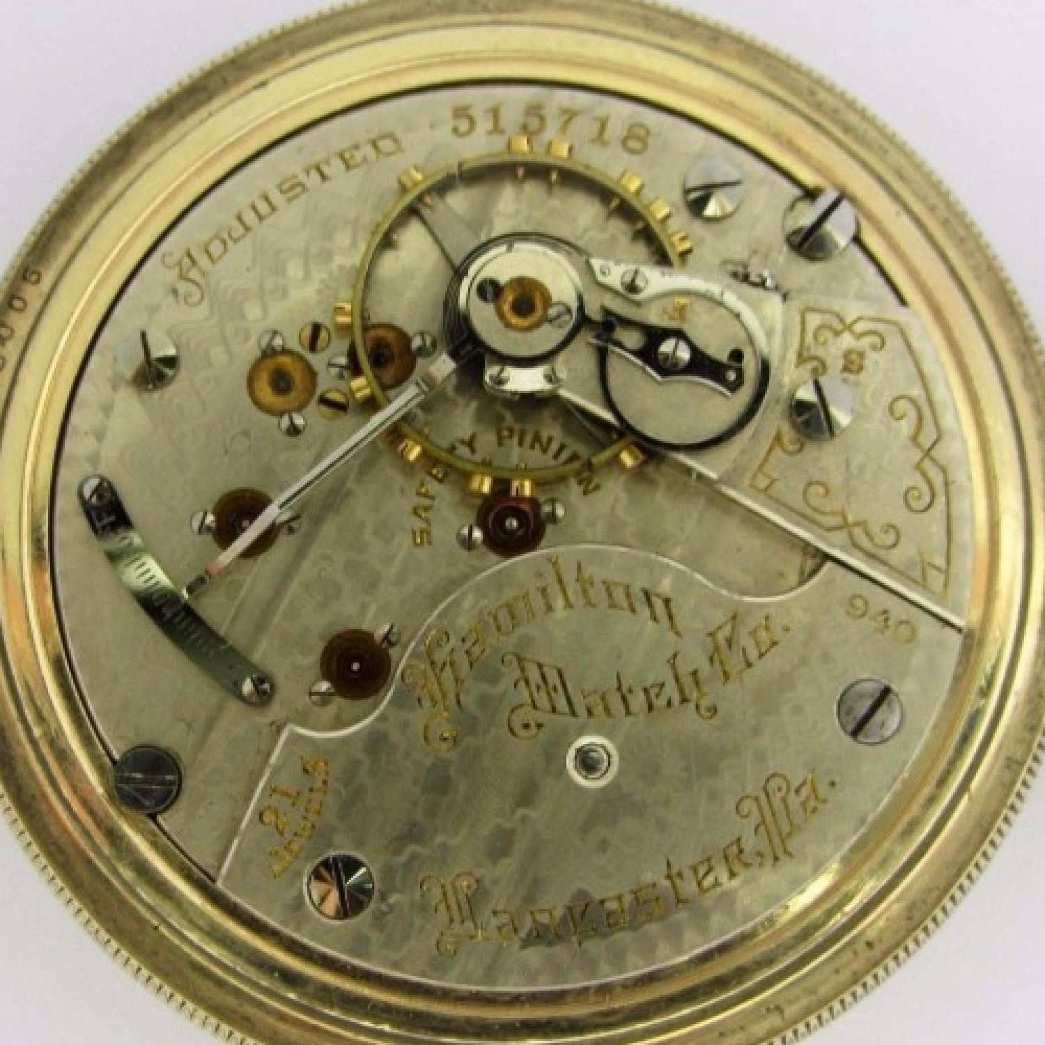 Image of Hamilton 940 #515718 Movement