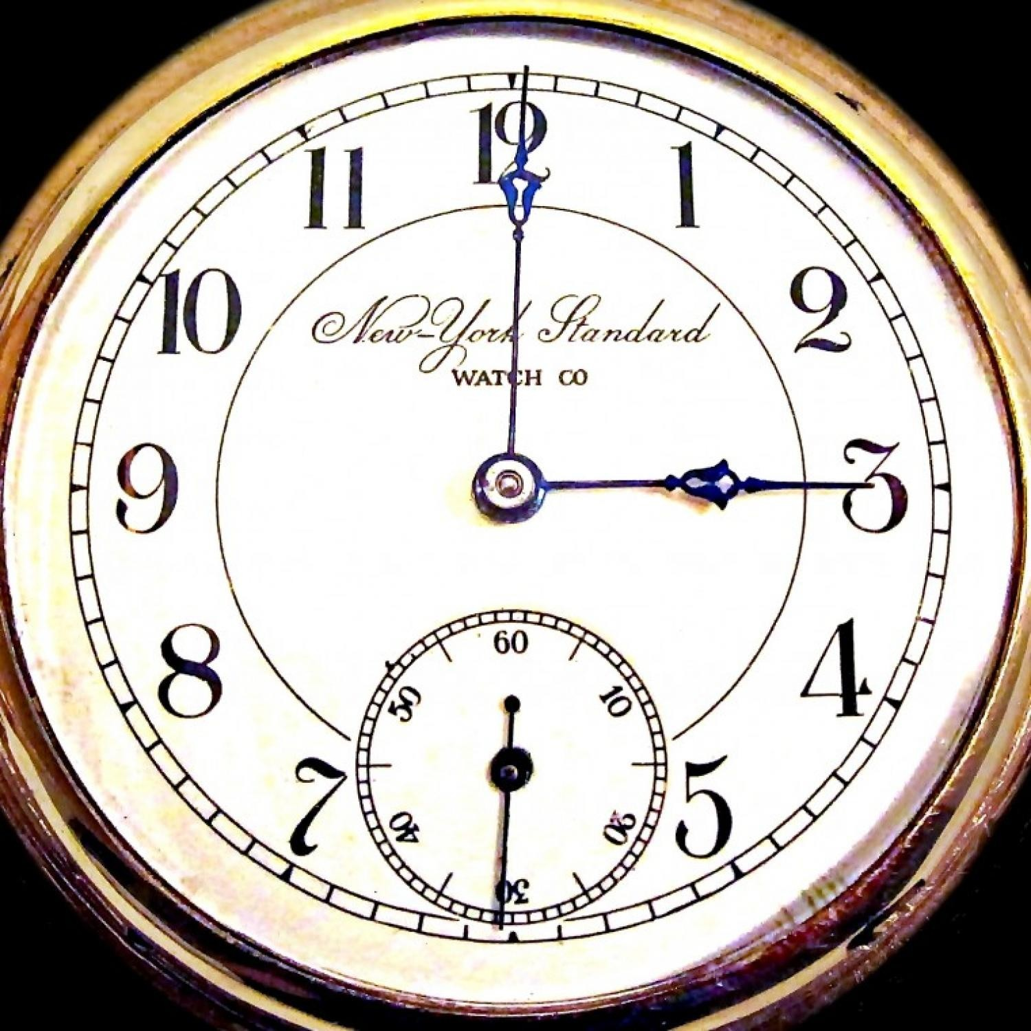 Image of New York Standard Watch Co. 44 #513882 Dial