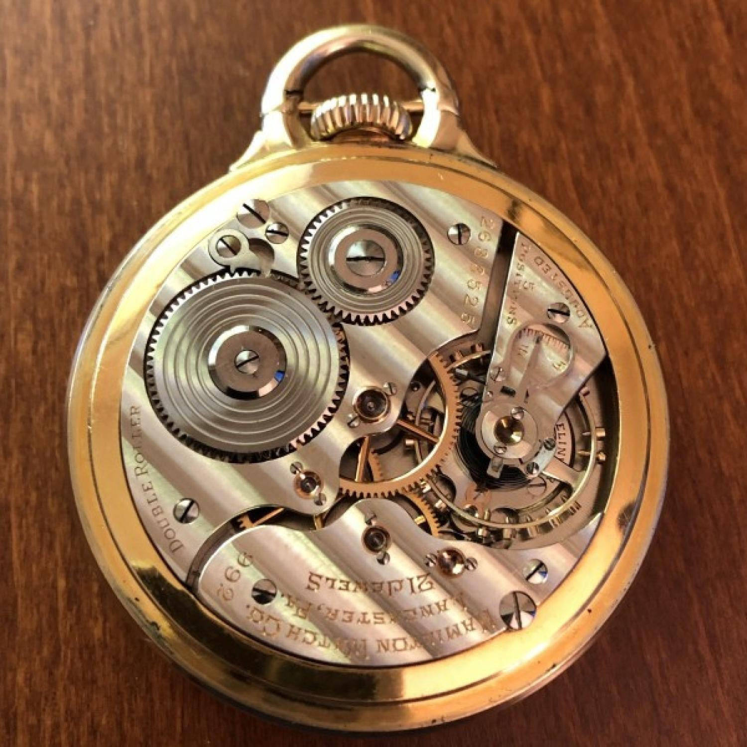 Image of Hamilton 992E #2633525 Movement