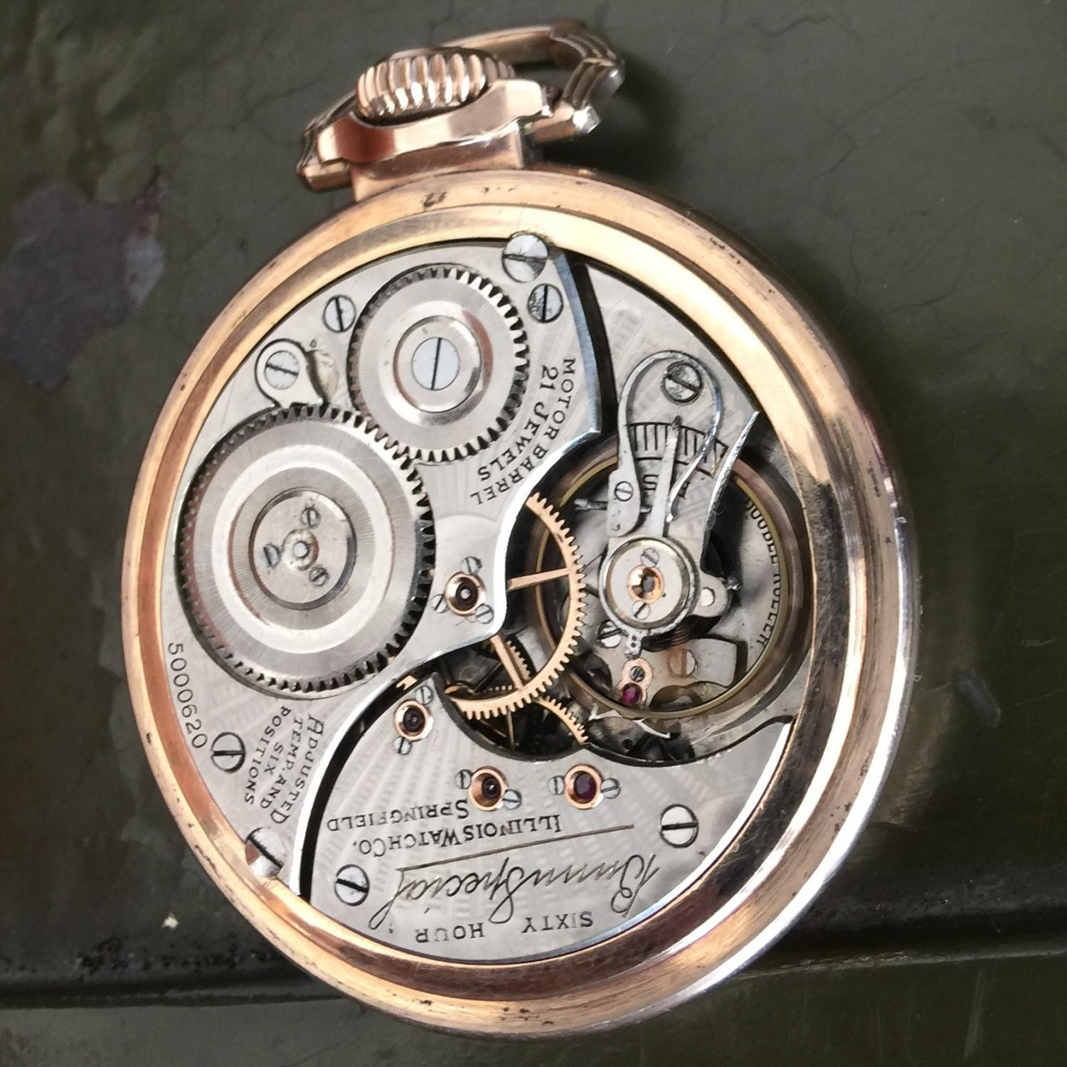 Image of Illinois Bunn Special #5000620 Movement