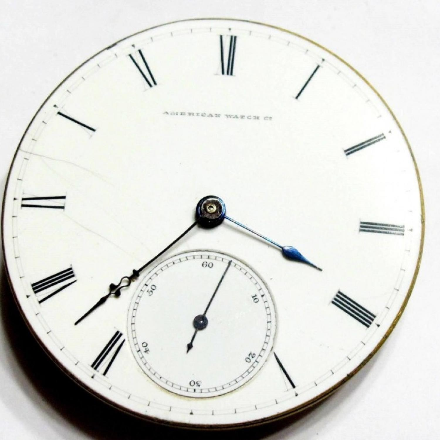 Image of Waltham A.T. & Co. #280575 Dial