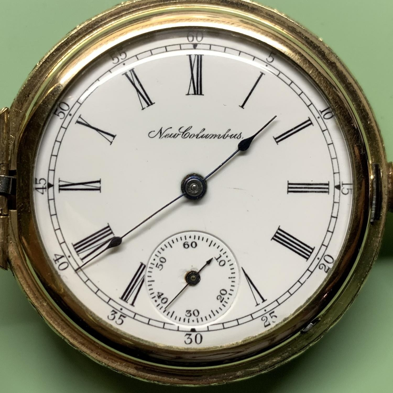 Image of Columbus Watch Co. 22 #348870 Dial