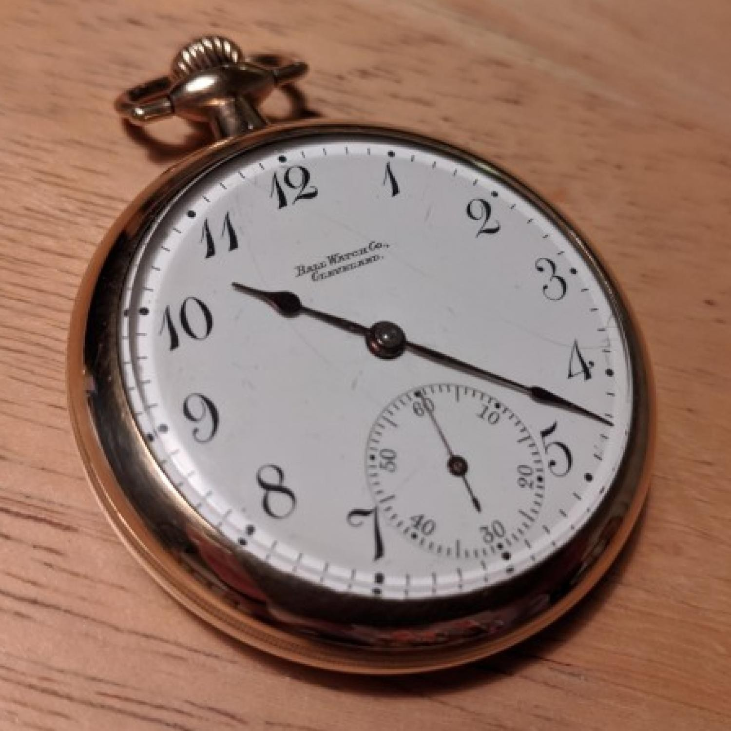 Image of Ball - Waltham Official Standard #B228191 Dial
