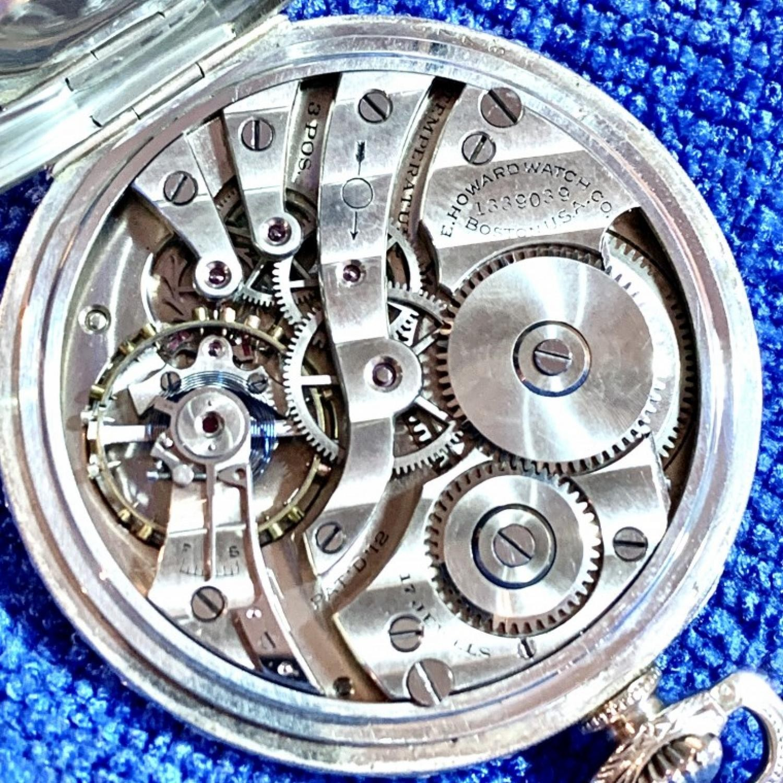 Image of E. Howard Watch Co. (Keystone) Series 7 #1339039 Movement