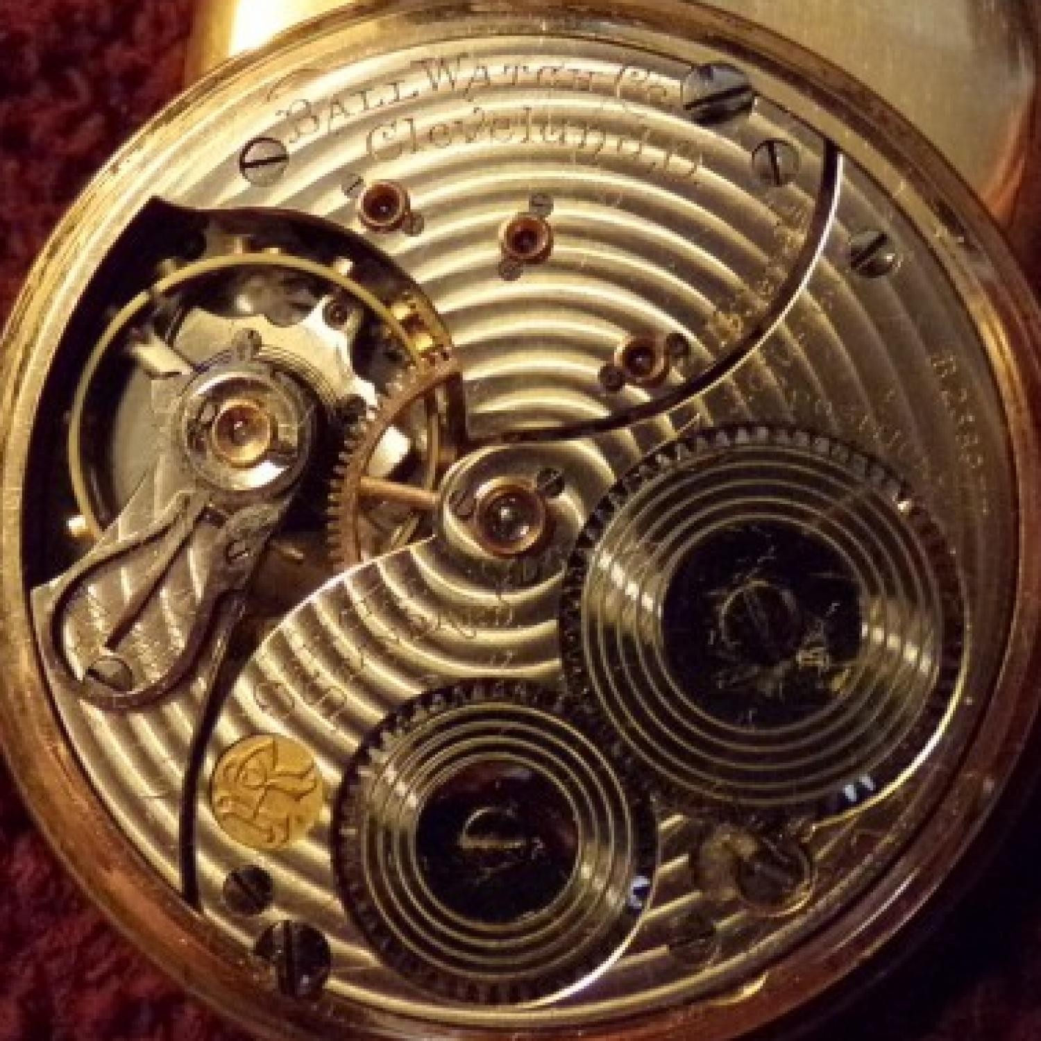 Image of Ball - Waltham Official Standard #B238977 Movement