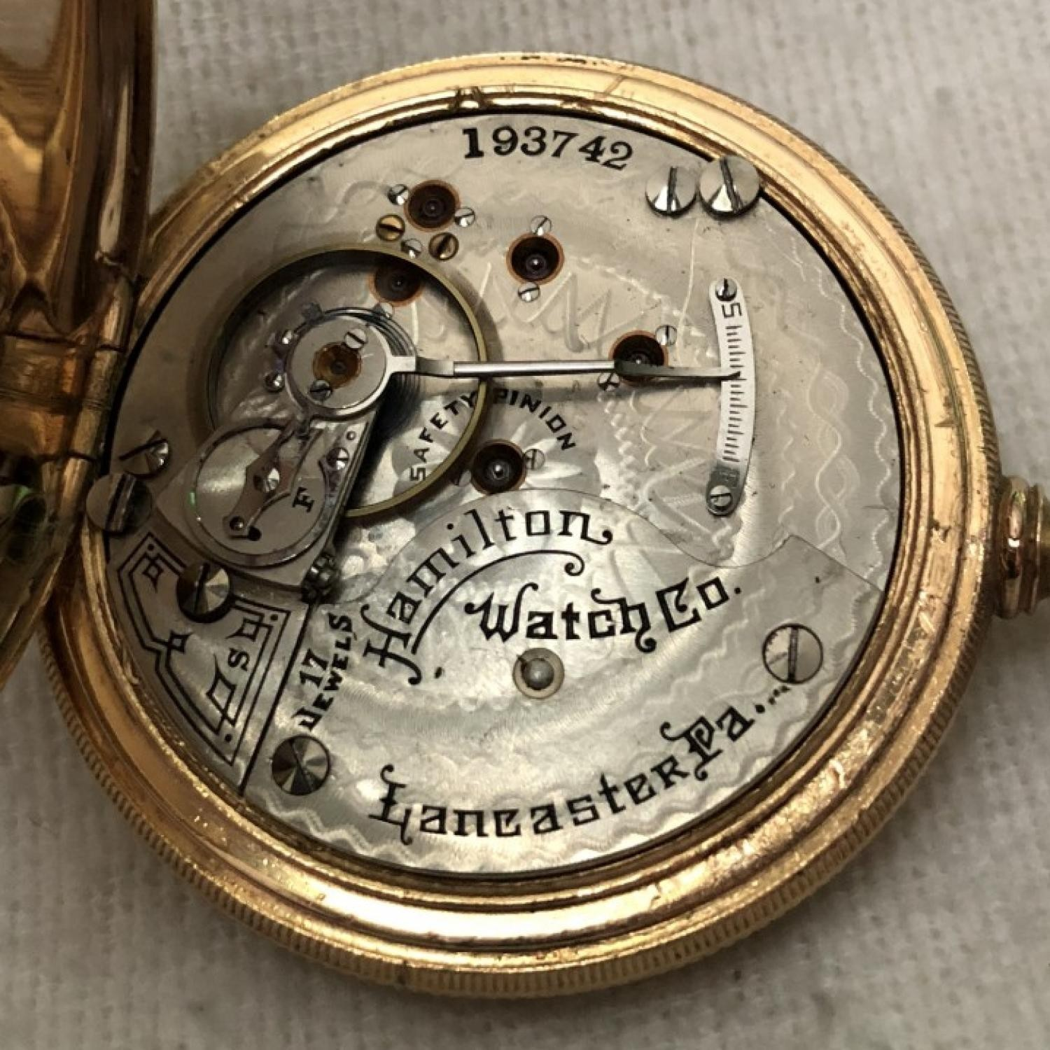 Image of Hamilton 925 #193742 Movement