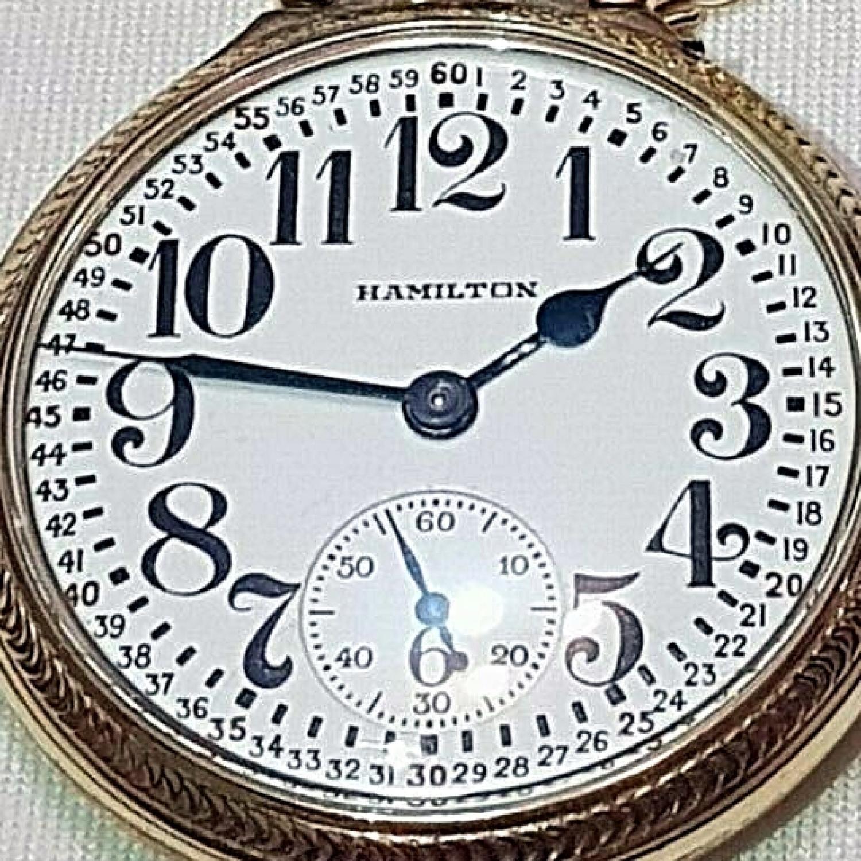 Image of Hamilton 974 Special #2566616 Dial
