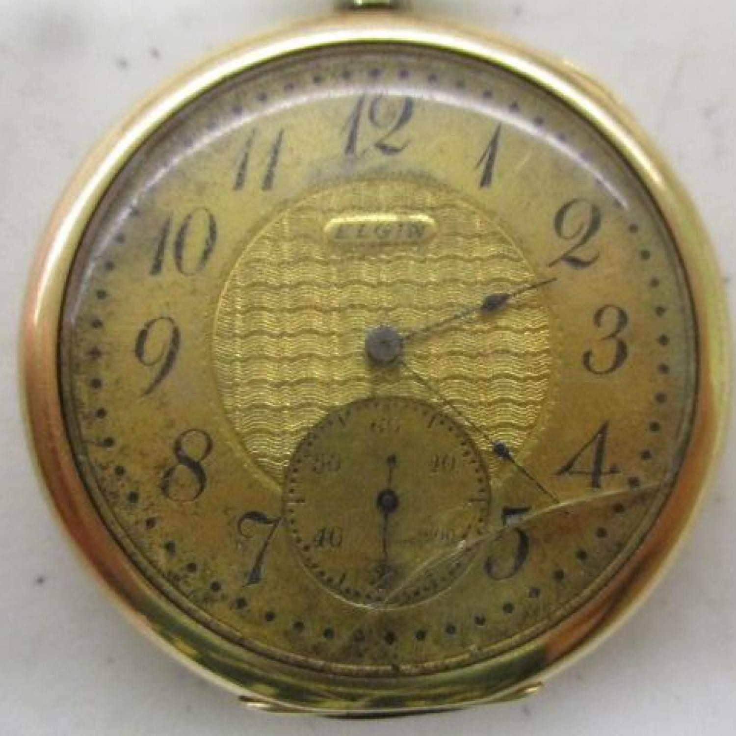 Image of Elgin 356 #13117411 Dial