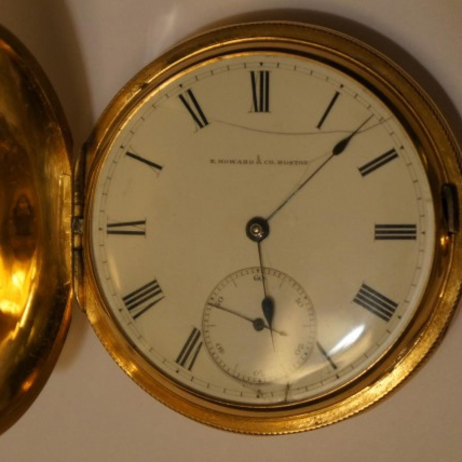 Image of E. Howard & Co. Series III #13395 Dial