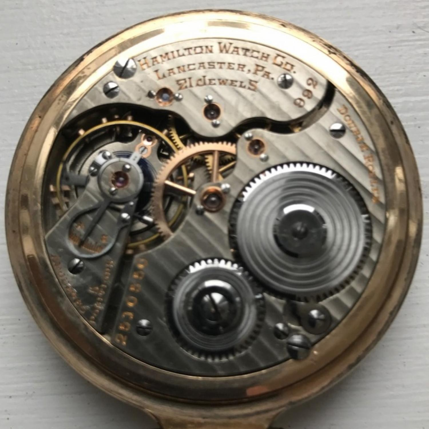 Image of Hamilton 992 #2510550 Movement