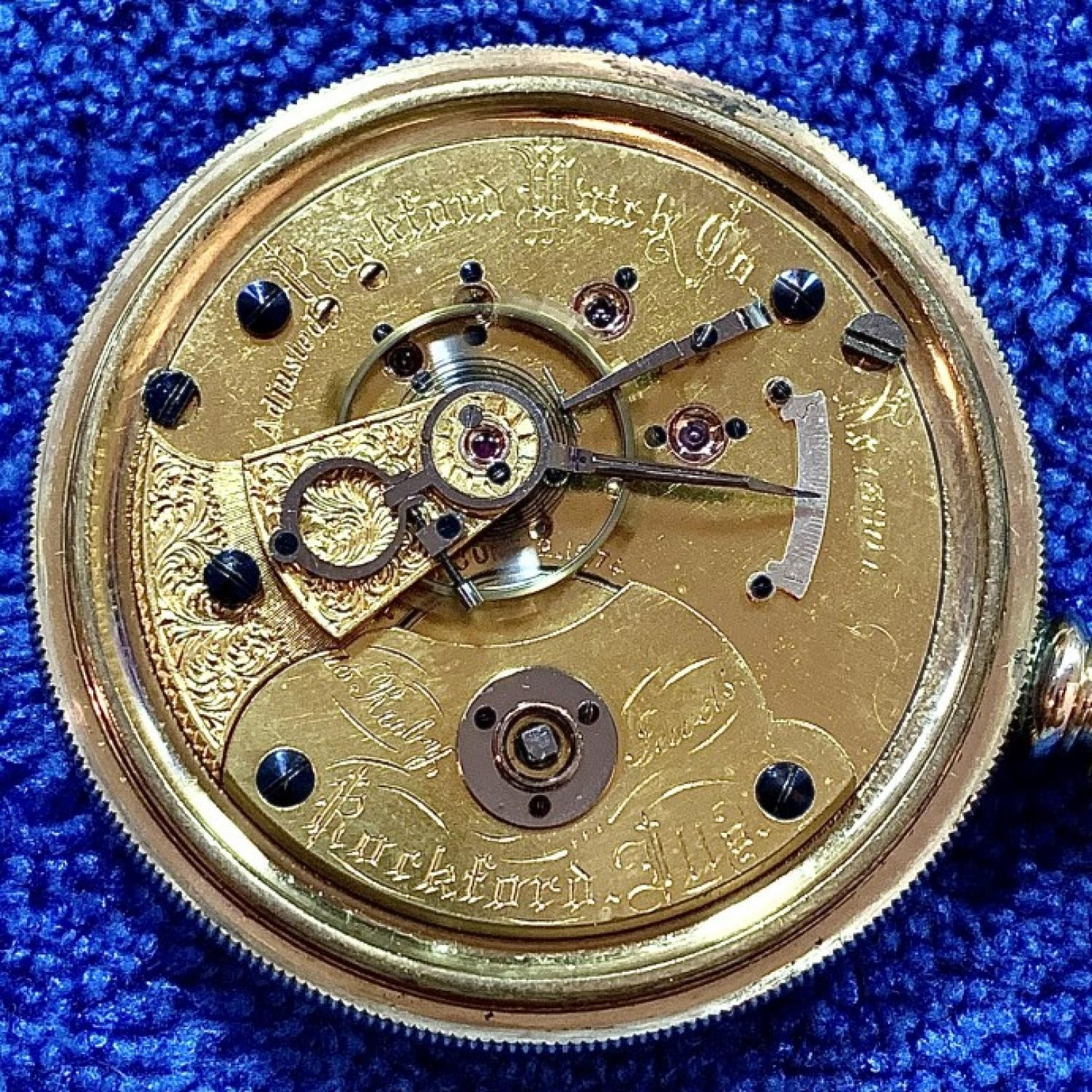 Image of Rockford 15 Ruby Jewels #13801 Movement