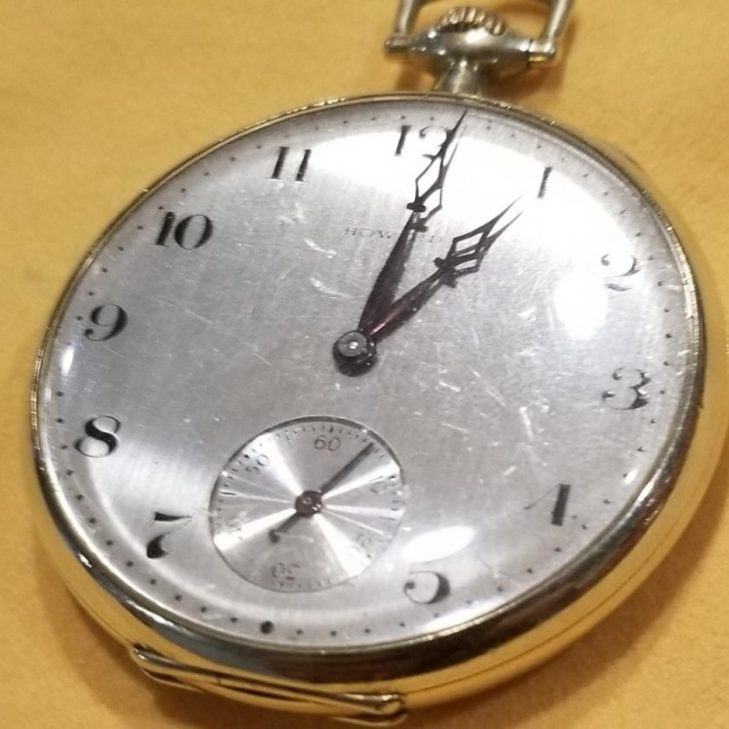 Image of E. Howard Watch Co. (Keystone) Series 7 #1325376 Dial
